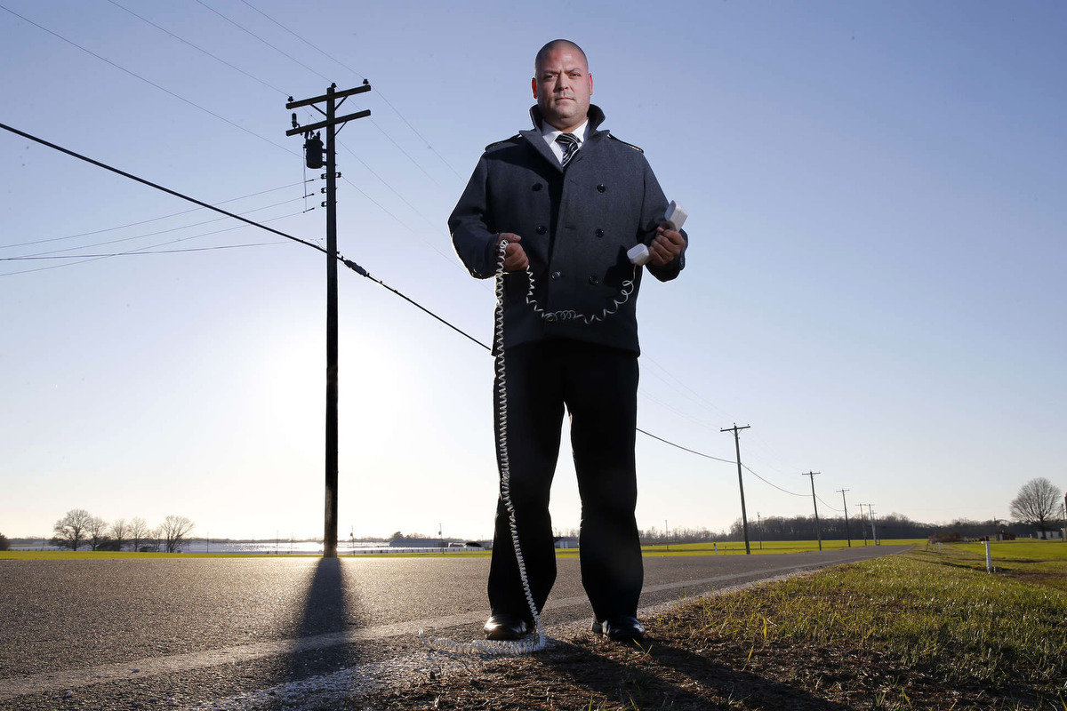 Tim Van Meter of Hopewell Township in Cumberland County, N.J., said in 2016 he couldn´t get internet service from Verizon or cable in his home.
