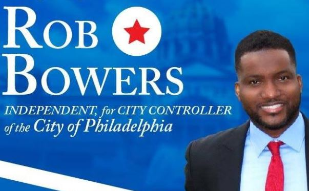 Rob Bowers has filed to run as an independent for Philadelphia City Controller in the Nov. 7 general election.