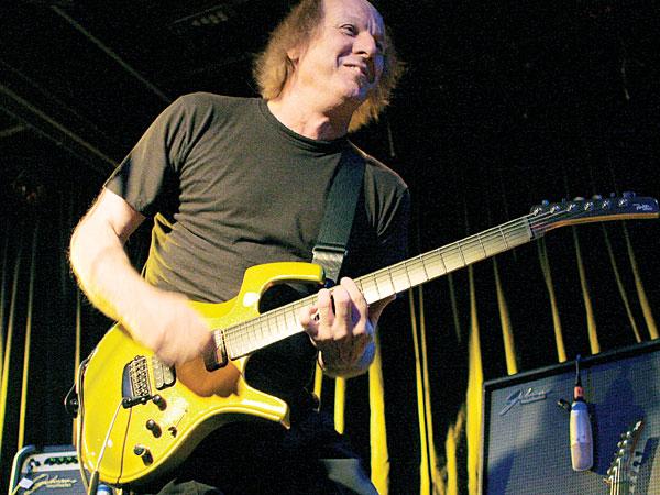 Guitarist Adrien Belew.
