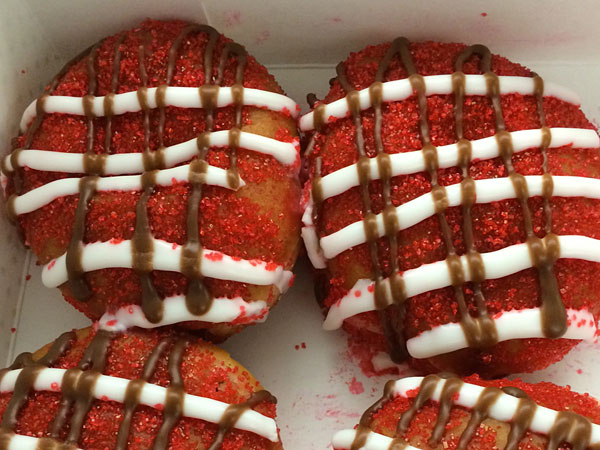 Sugarhouse´s Sugar Rush doughnut.