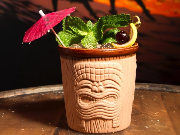 Trader Vic´s Mai Tai is shown at The Yachtsman at 1444 Frankford Ave.  on Sept. 19, 2014.  ( CHARLES FOX / Staff Photographer )
