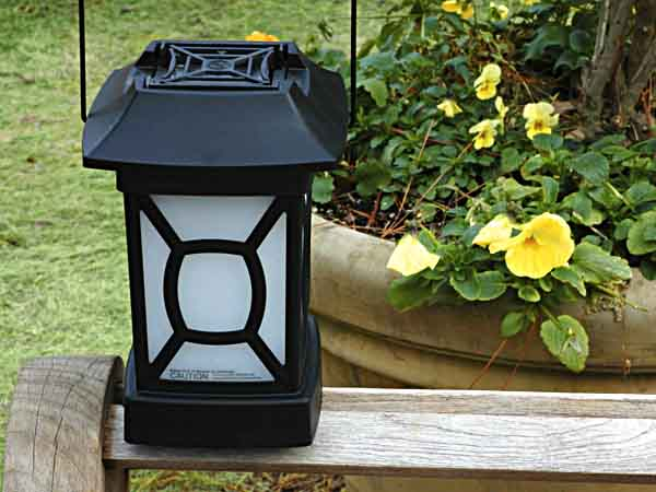 The ThermaCELL Insect Repellent Lantern in its natural habitat.