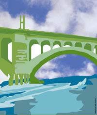 From the Eco-Arts Festival poster at Manayunk.com