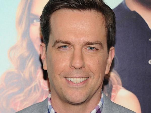 "Actor Ed Helms attends the world premiere of ""We´re The Millers"" at the Ziegfeld Theatre on Thursday, Aug. 1, 2013 in New York. (Photo by Evan Agostini/Invision/AP)"