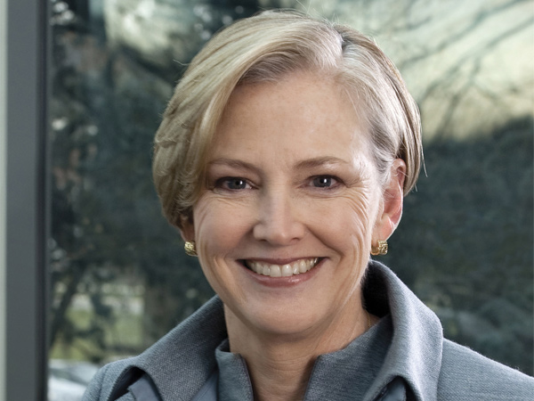 Ellen Kullman is the first female CEO of Wilmington-based DuPont company and remains popular  in her home town.