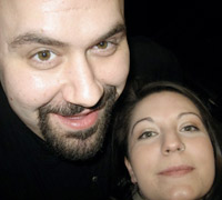 Eric Paraskevas and Laura Sandoval<br /><br />