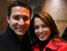 Erin O´Hearn and husband Sal Paone Jr. (Image via Phillyskyline.com)