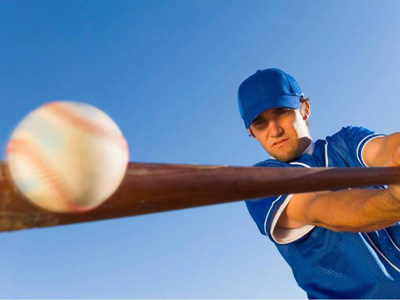 The basic fundamental principal found in all sports is keeping your eye on the ball. We've all heard it. Heck, there's a good chance that idea was drilled in our heads long before we could even read or write.