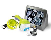 The EyeClops Bionic Eye magnifies up to 200 times.