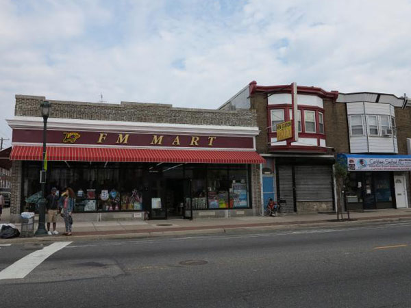 The F.M. Mart on Torresdale Avenue has been renovated to look like the Woolworth's it was years ago. (PlanPhilly)