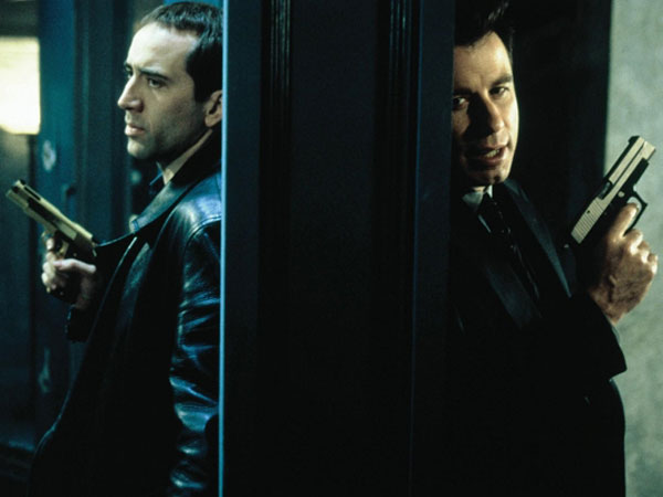 """Nicolas Cage and John Travolta going at it in """"Face/Off."""""""