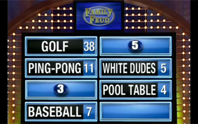 worst 39 family feud 39 answers ever per steve harvey philly. Black Bedroom Furniture Sets. Home Design Ideas