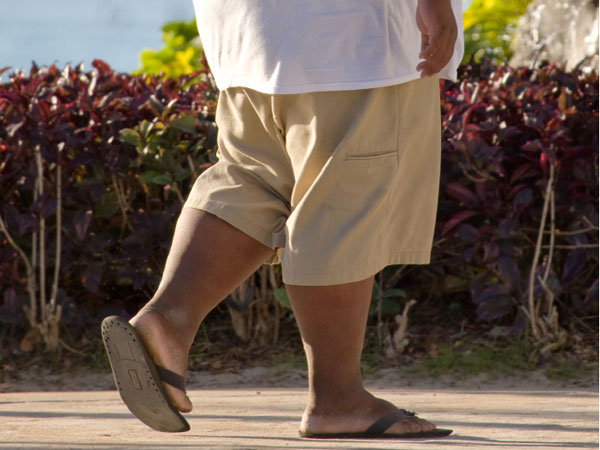 Rates of adult obesity increased in six U.S. states and fell in none last year.