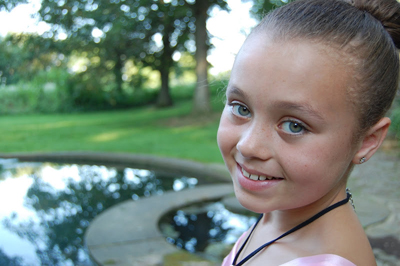 At 10 years old, Marlia Matters deals with a disease that affects more than 30,000 people in the United States: cystic fibrosis. (Courtesy Paula Matters)