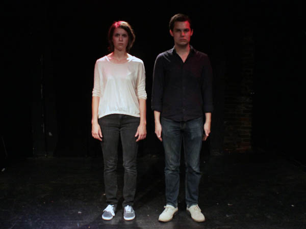 Five Dollar Comedy Week is organized by Kate Banford and Aaron Nevins. (Photo via Kate Banford)