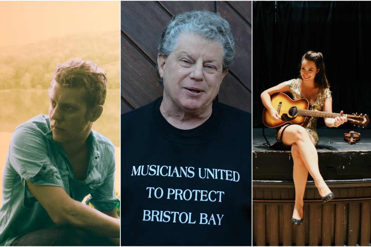 Anderson East, Si Kahn, and South Philly´s own Sarah Larsen (of Hurricane Hoss) are all playing this weekend´s 55th annual Philadelphia Folk Festival.