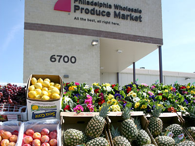 Philadelphia Wholesale Produce Market.