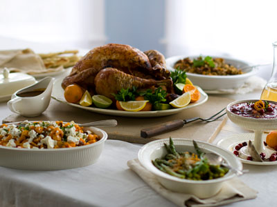 No need for a salt shaker on the Thanksgiving table: Unless you really cooked from scratch, there´s lots of sodium already hidden in all the turkey and trimmings.   (AP Photo/Matthew Mead)