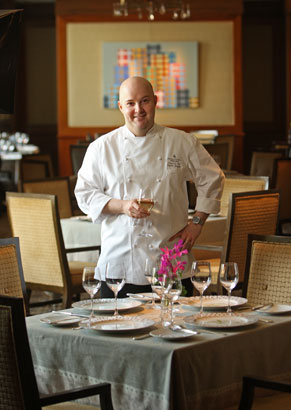Fountain Restaurant executive chef Rafael Gonzalez. (Michael Bryant / Staff Photographer)