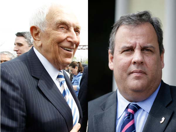 Frank Lautenberg and Chris Christie