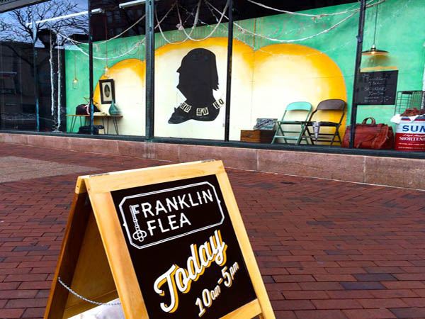 Franklin Flea´s opening day at the historic Strawbridge´s building is this Saturday, April 19.