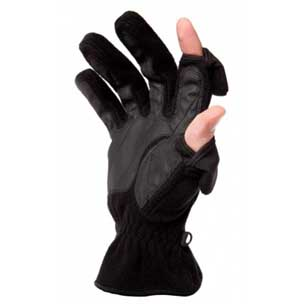 Freehands ´Recycled Fleece´ gloves are made from recycled plastic bottles.