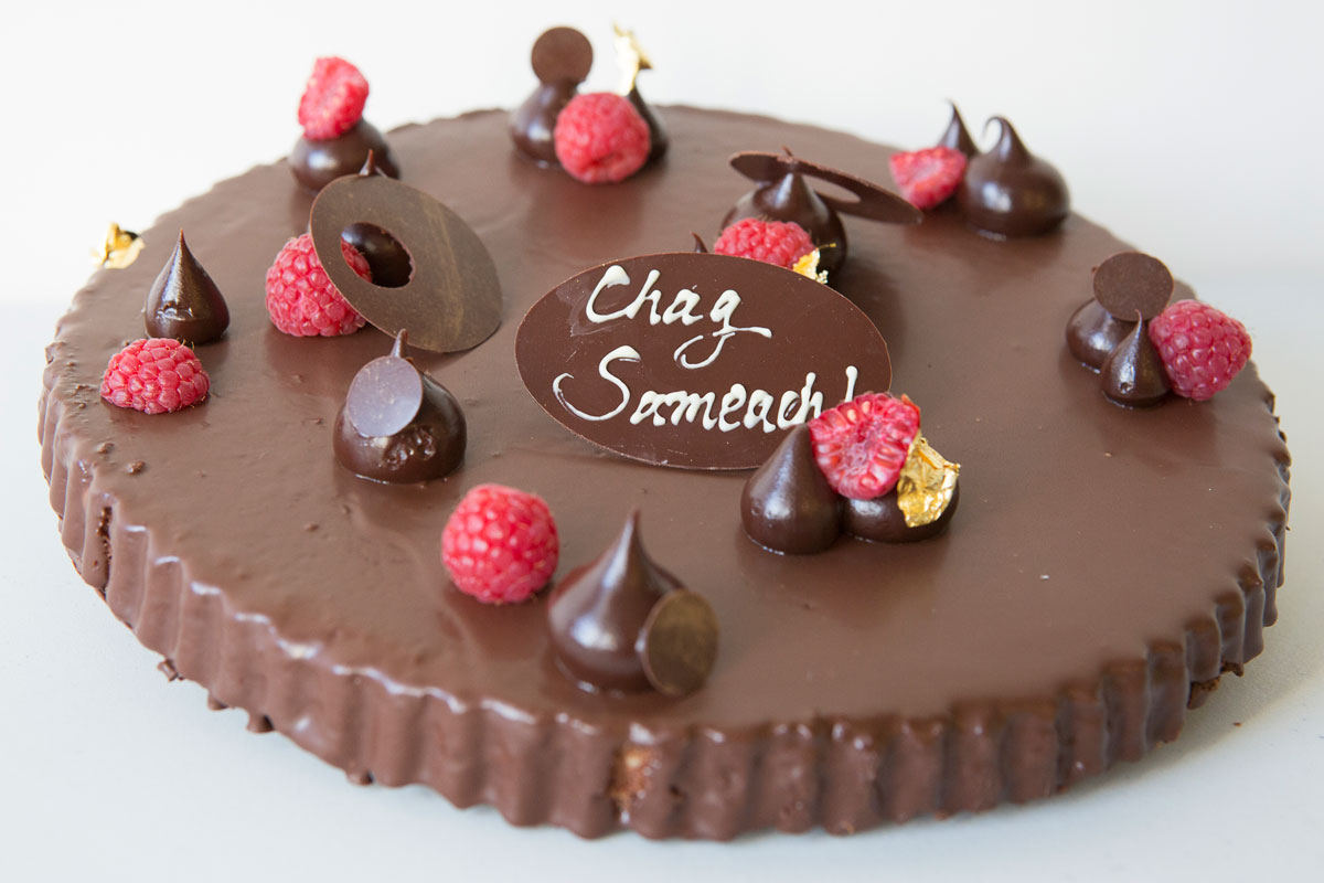 Chocolate Passover gateau from Parc.