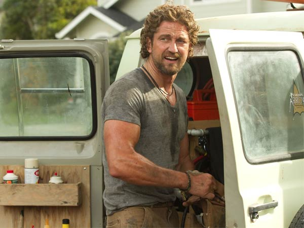 "Gerard Butler as Frosty Hesson in the 2012 surfer flick, ""Chasing Mavericks."" Butler will take up another surfer role as Bodhi in the ´Point Break´ reboot."