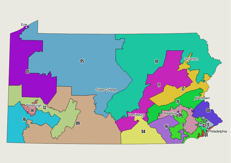 Pa. gerrymandering case: State Supreme Court releases new ... on map of minneapolis, map of north philly, philadelphia county pennsylvania house districts, map of dallas, map texas districts, map of chicago, map virginia districts, map northwest suburbs of philly, map of kansas city, map of washington, philadelphia planning districts, map of 39th police district, map of syracuse, map of rochester,
