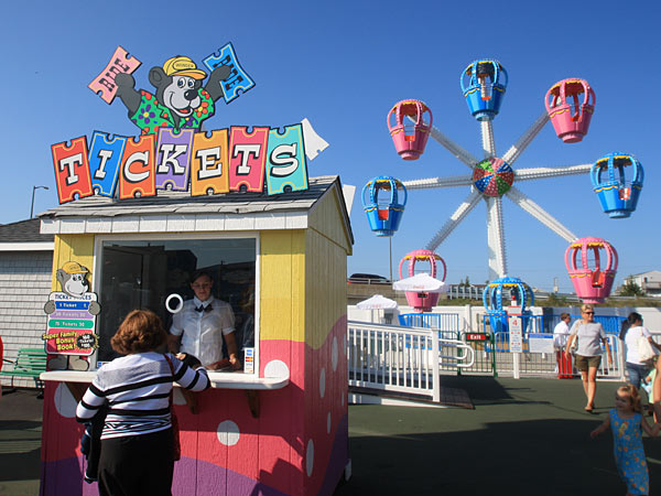 A scene from Gillian´s Funland in Sea Isle City. The amusement park was severely damaged by Superstorm Sandy and will not reopen. (Photo: Gillian´s Funland/File)