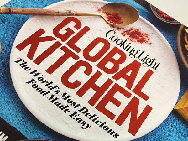"""""""Global Kitchen"""" by Cooking Light, by David Joachim."""