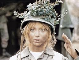 "Goldie Hawn as the title character in ""Private Benjamin"""