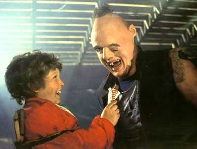 Chunk and Sloth... and Baby Ruth