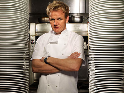 "Gordon Ramsay of ""Hell´s Kitchen."""