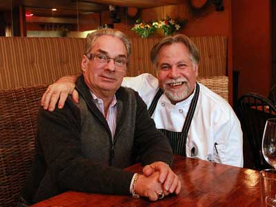 Georges Perrier and Al Paris at Heirloom.   MICHAEL KLEIN / Philly.com