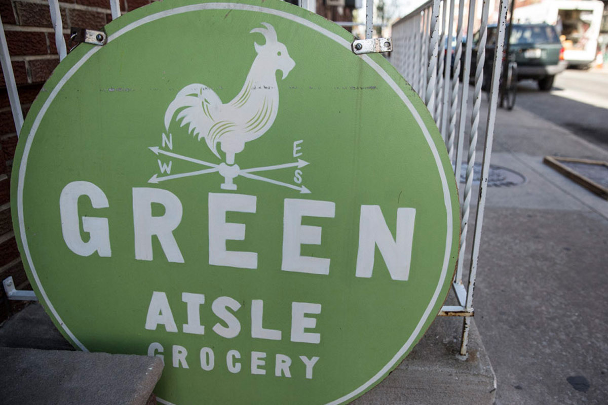 Green Aisle Grocery.