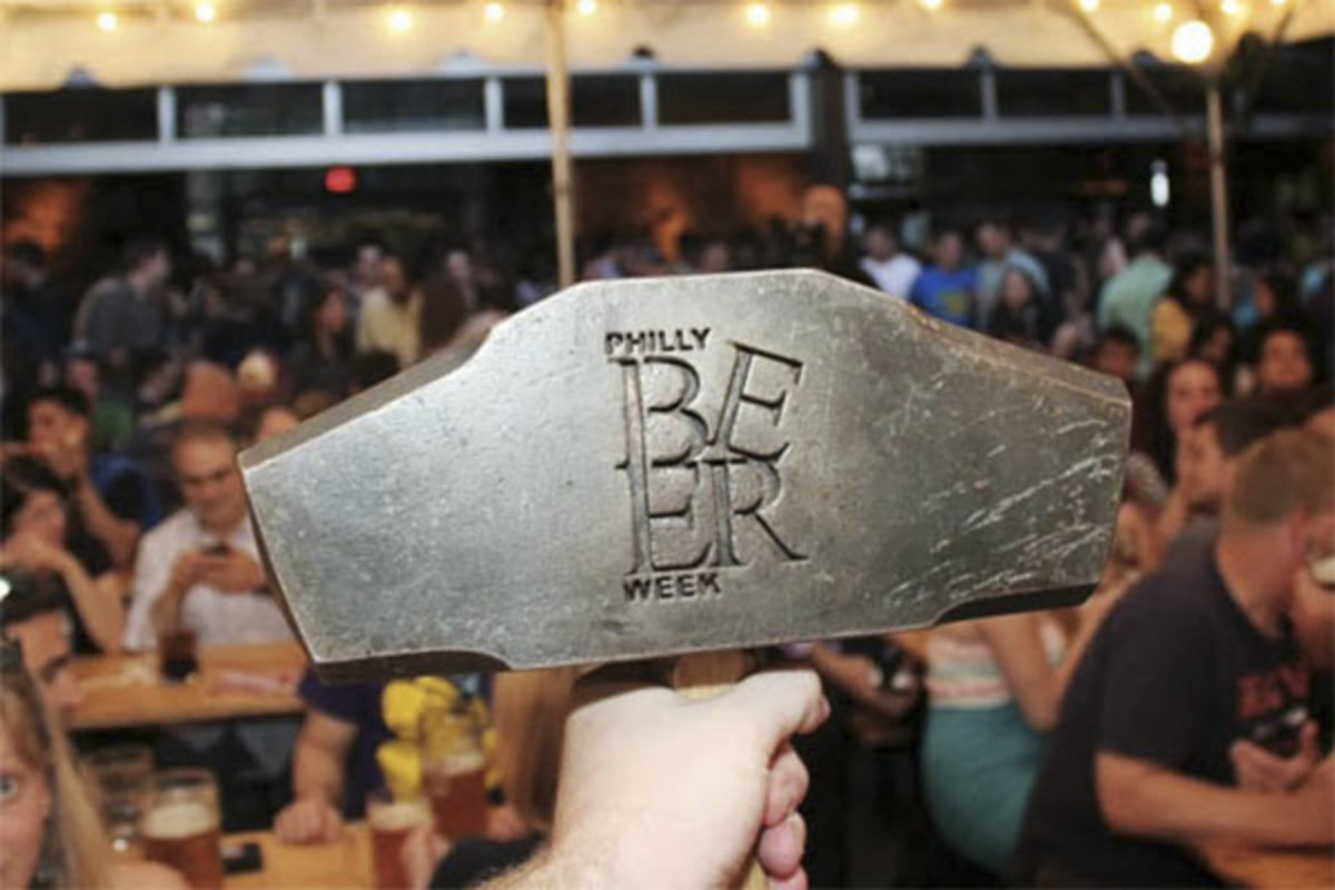 Philly Beer Week´s Hammer of Glory.