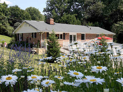 Eileen´s domain is the wildflower garden surrounding the brick rancher, which is adjacent to Ridley Creek State Park. (Akira Suwa / Staff Photographer)