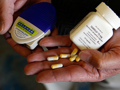 World Health Organization researchers are reporting an apparent spike in influenza cases resistant to Tamiflu. Relenza, however, still seems to work well. (AP Photo/Francisco Kjolseth)