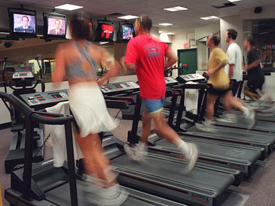 A new study appearing online Dec. 5 in the journal Circulation finds that improving or even just maintaining your fitness level can help you live longer. (AP Photo/Mark Lennihan)
