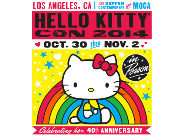 """Hello Kitty will appear """"in person"""" at the Hello Kitty Con in Los Angeles -- more evidence of the character´s ambiguous species identity?"""