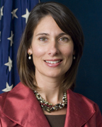 Deborah Hersman, chairperson of the National Transportation Safety Board