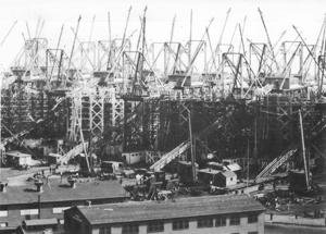 Did the Hog Island shipyard lend its name to the hoagie?