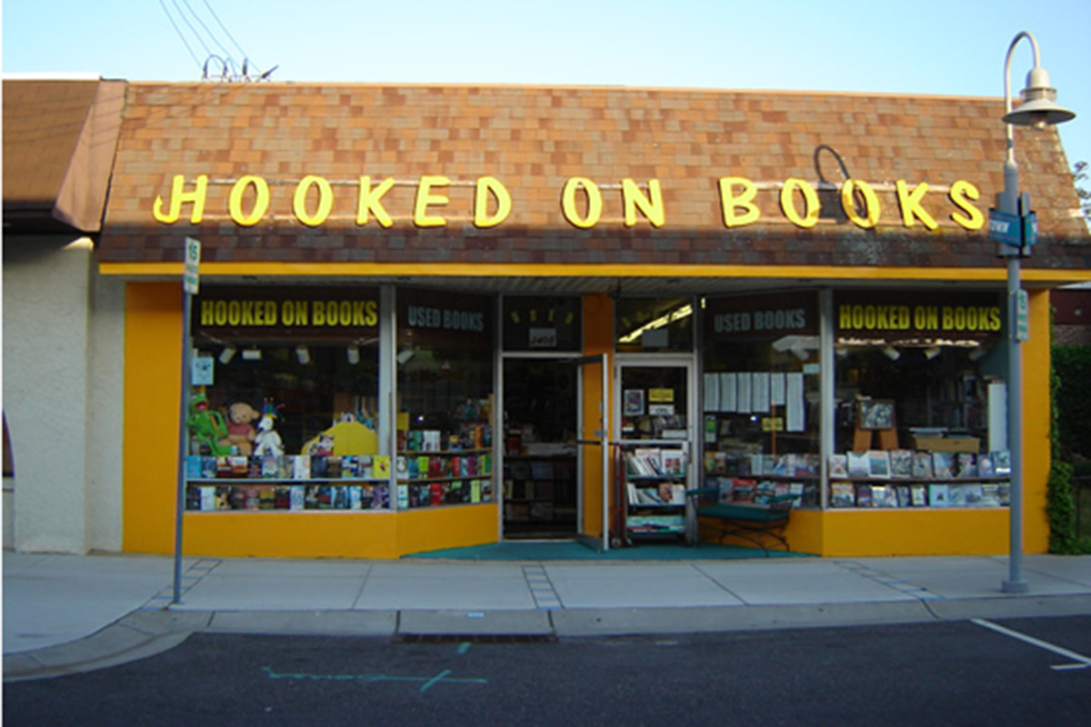 Hooked on Books at 3405 Pacific Ave. In Wildwood, N.J.
