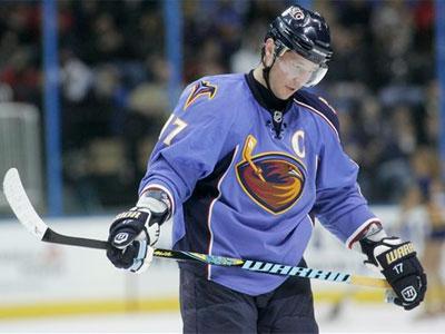 The Flyers  are not interested in acquiring Ilya Kovalchuk  from Atlanta. (AP Photo/John Amis)