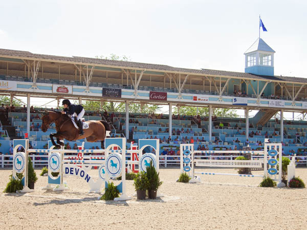 The Devon Horse Show, the largest outdoor horse show in the country, holds dozens of competitions over its 11 days--May 22 through June 1. (Photo by Brenda Carpenter)