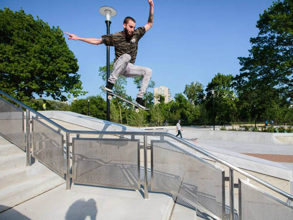 Adam Hribar at Paine´s Park (Photo via Facebook)