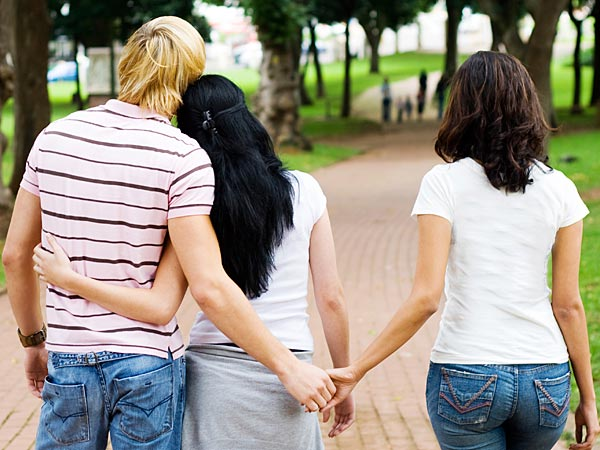 Make this not about monogamy for the sake of it, but about living honestly as who you really are. (iStock image)