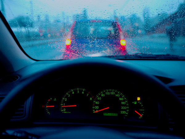 A reader asks why they have hydroplaned twice recently.