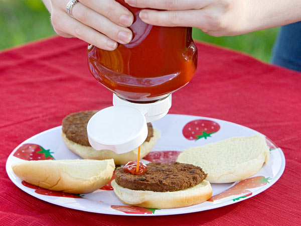 Can anything else be coaxed out of that almost-empty ketchup bottle? So many have tried and failed. (istockphoto)